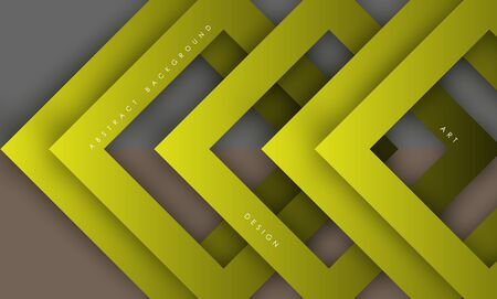 Abstract modern yellow triangle digital - Vector Background.