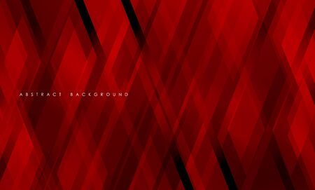 Abstract red geometric strip pattern background.