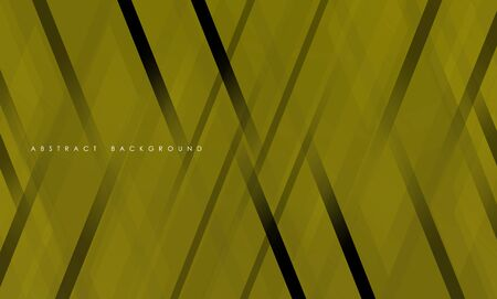 Abstract yellow geometric strip pattern background.
