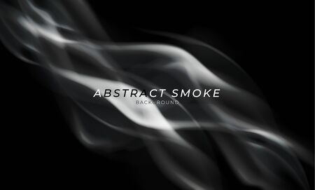 Abstract Smoke transparent background, Abstract futuristic art wallpaper. Vector illustration.