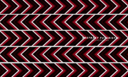 Abstract arrow and geometric hi-tech background. Abstract futuristic art wallpaper. Vector illustration.