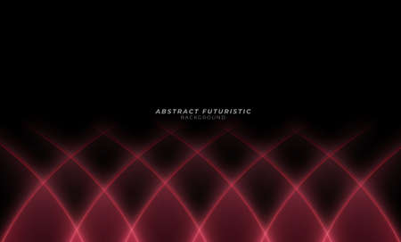 Best banner business design Abstract line curve pattern background. futuristic background, Abstract art wallpaper. Vector illustration. Foto de archivo - 168180735