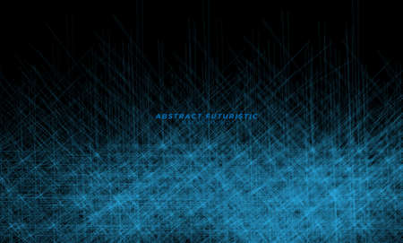 Technology particle design background. Abstract technology background Hi-tech communication concept futuristic digital innovation. Vector background. Foto de archivo - 168180745