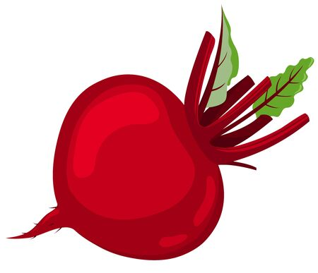 Red beet.