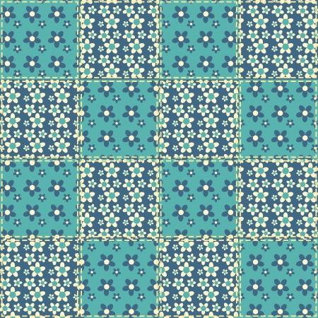 homespun: Edred�n patr�n de mosaico de fondo sin fisuras