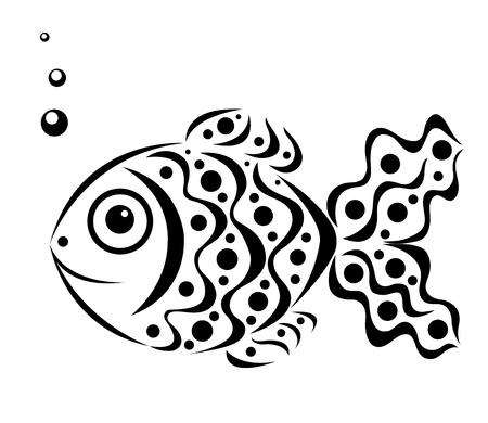 ornamental fish: I pesci ornamentali Vettoriali
