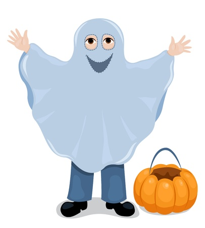 Ghost child Stock Vector - 15695533