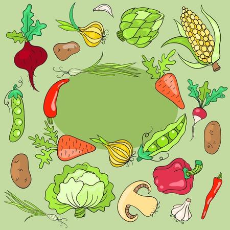 美术蔬菜拼贴画