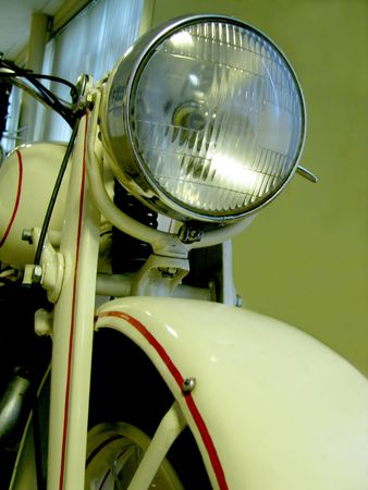 lamp antique motorcycle photo