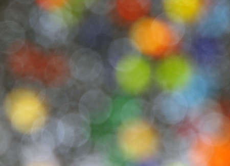 slur: gray background of colored circles Stock Photo