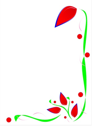 beautiful decorative ornament for the design of various works Illustration