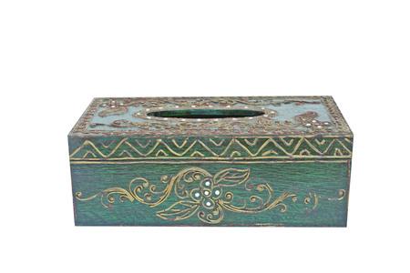 Ancient tissue box Stock fotó