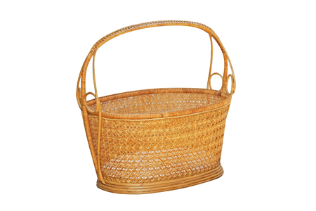 A basket for take flower to the temple in buddhist  holy day