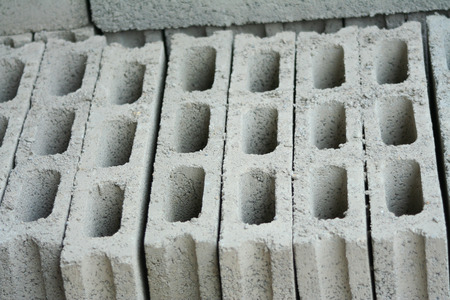 Cement blocks background,Concrete blocks Stock Photo
