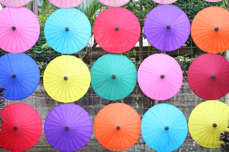January,19,2018 , Bo Sang Umbrella Festival. Held in January of each year. Bo Sang Umbrella Handicraft Centre. San Kamphaeng district , Chiang Mai Thailand.