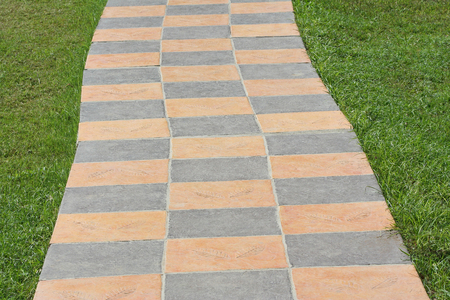 Pavement in park