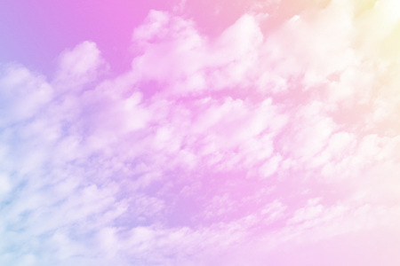 Sky pastel color background and nature cloudy with breeze Stock Photo