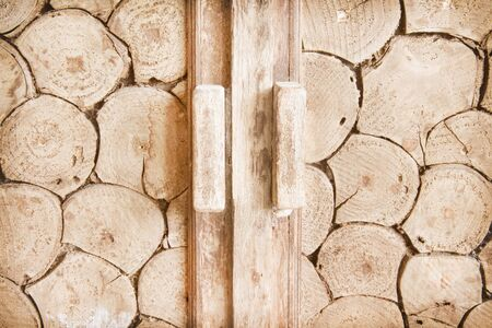Old wood group texture or background 免版税图像
