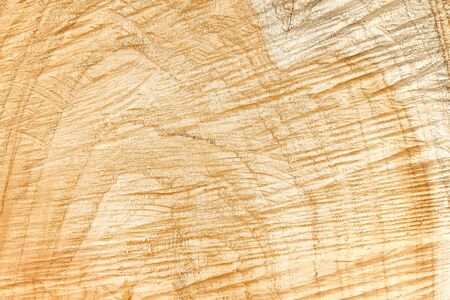Natural wood background , cross section surface patterns of tree trunk Stockfoto