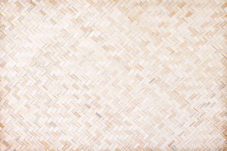 Wood weave wall texture seamless  pattern , bamboo handmade background