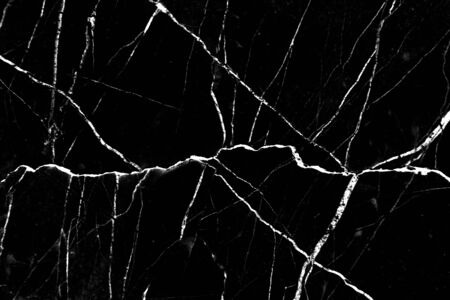 Black and white marble texture on background Stockfoto