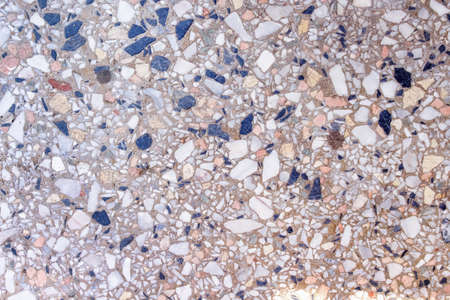 Old terrazzo surface floor colorful multicolored background