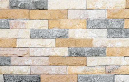 Colorful sand stone wall abstract texture for background