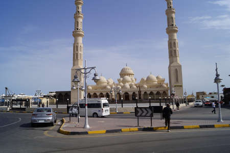 Mosque in Arab photo