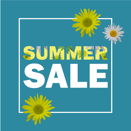 Summer Sale sign Stock Photo