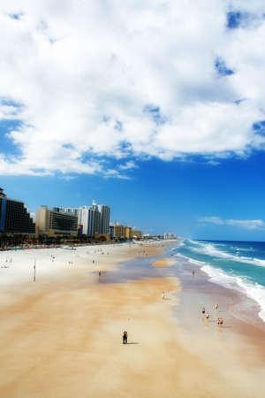 shores: high-rise view of Daytona Beach shores