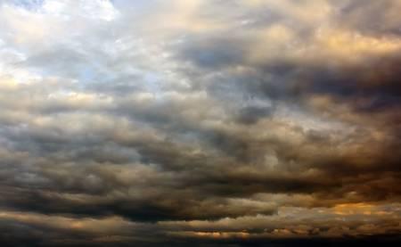 hover tempesta nuvole nel cielo Archivio Fotografico