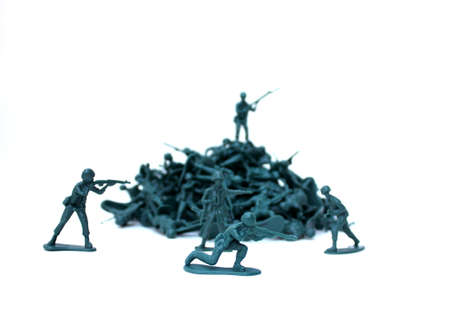 army men: Toy army men Stock Photo