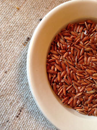 Whole grain rice.