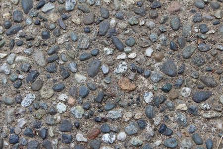 béton de granulat apparent (horizontal)