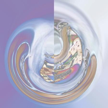 asymmetry: Swirling Rose