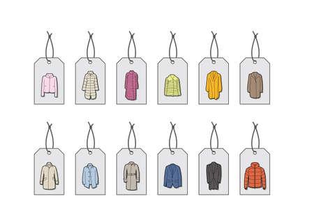 department store: Hang Tag