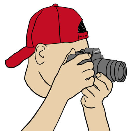 exposed: Photographer Illustration