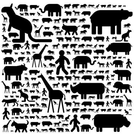 Illustration of creatures