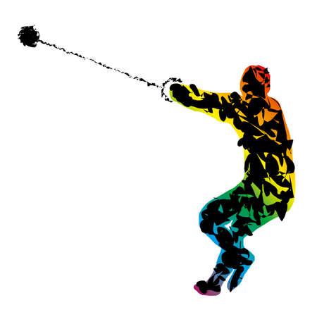 hammer throw: Athlete