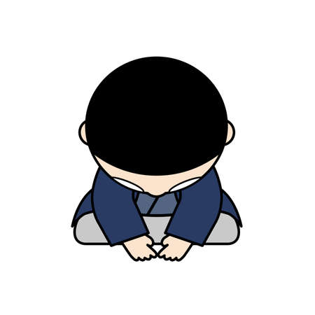 formal attire: Japanese boy