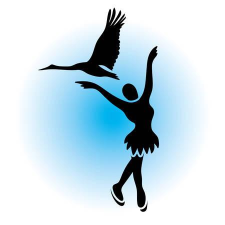 winter dance: Figure skating