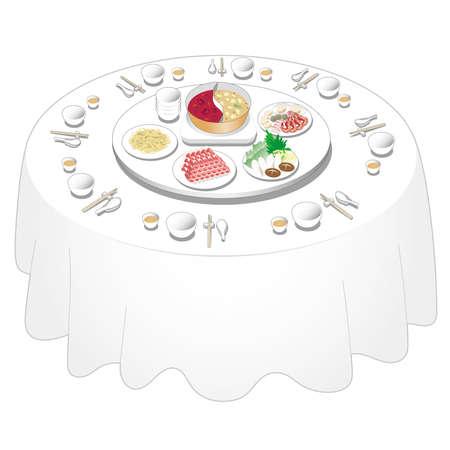 Chinese food Illustration