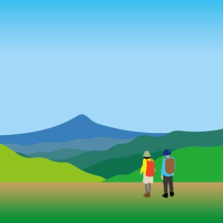 Outdoor leisure Illustration