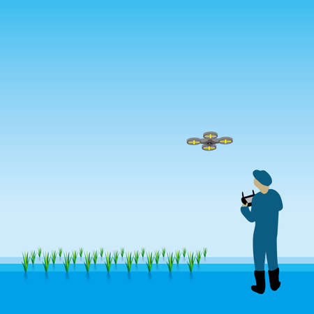 scouting: Drone Illustration