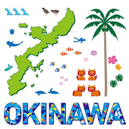 Illustration of Okinawa