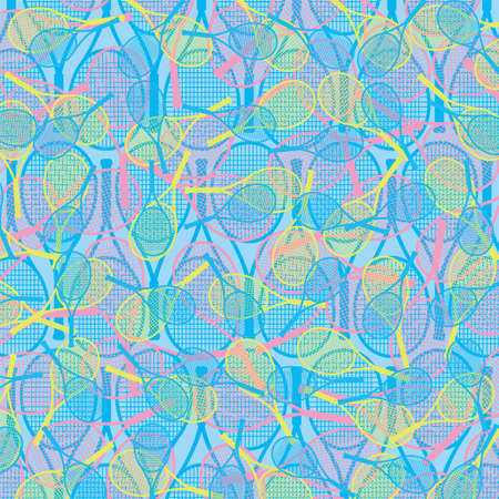 Tennis themed wallpaper