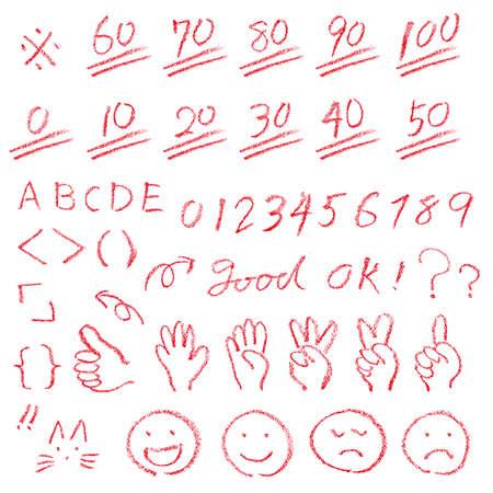 Kennzeichnung des Antwortbogens
