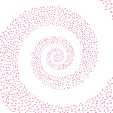 Illustration of cherry petal Vettoriali