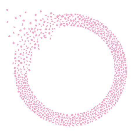 Illustration of cherry petal Illustration