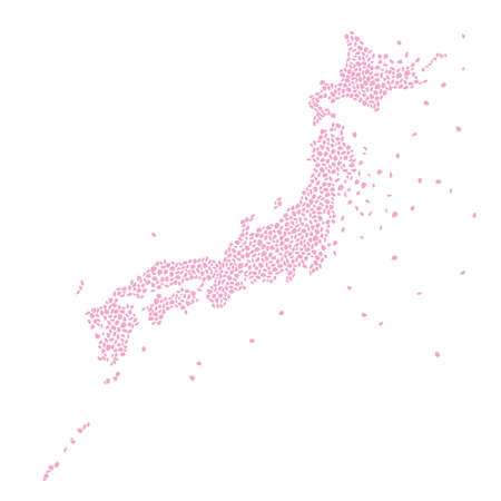 Japanese Map of Sakura